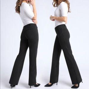 Sandro Black trouser pants pinstripe size 10